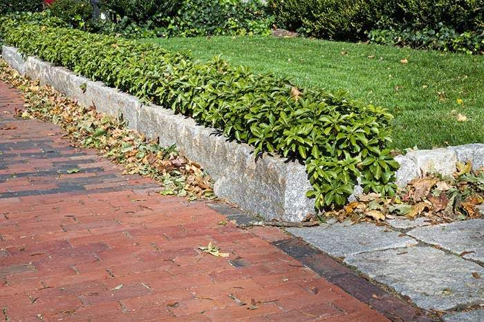 Reclaimed Granite Edging - Stone Curators