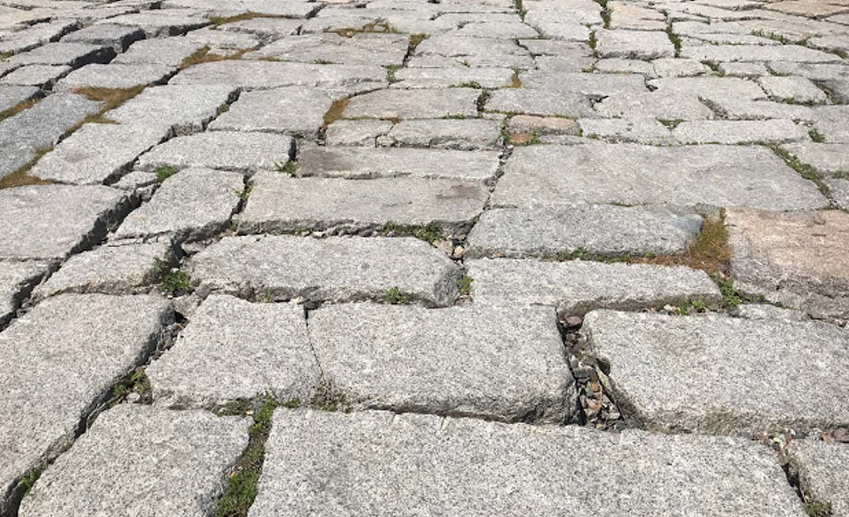 Reclaimed Pavers - Granite Block - Stone Curators